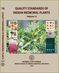 Quality Standards of Indian Medicinal Plants (Vol. 14)