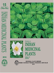 Reviews on Indian Medicinal Plants [Vol. 15 (Ma-Me)]