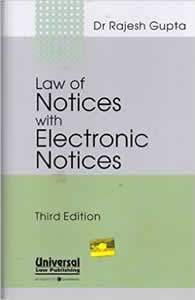 Law of Notices (with Electronic Notices)