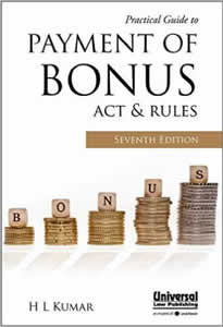 Practical Guide to Payment of BONUS Act & Rules