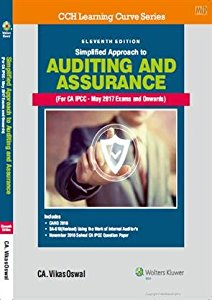 Simplified Approach to Auditing and Assurance (For IPCC)