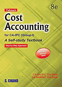 Cost Accounting for CA-PCC/IPCC (Group-1) with Quick Revision Book