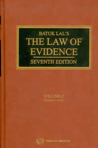 The Law of EVIDENCE (In 2 Vols.)