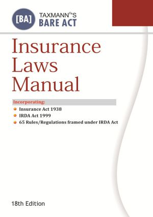 Insurance Laws Manual (As Amendment up-to-date)