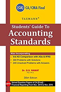 Students Guide to Accounting Standards (for CA/CMA Final Examinations)