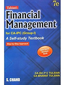 Financial Management (for CA-IPCC) - A Self Study Textbook with Quick Revision Book