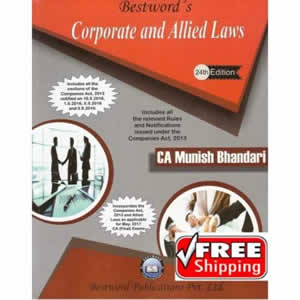 Corporate and Allied Laws (for CA Final) (as applicable for May, 2017 Exams)