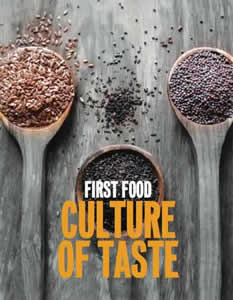 FIRST FOOD - Culture of Taste