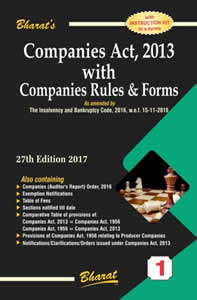 Companies Act, 2013 with Companies Rules & Forms (in 2 Vols)