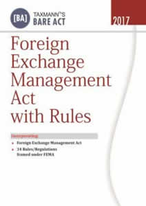 Foreign Exchange Management Act with Rules (FEMA)