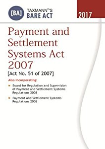 Payment and Settlement Systems Act 2007