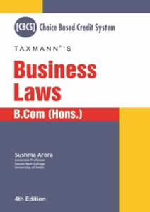 Business Laws (B.com) Choice based Credit System(CBCS)