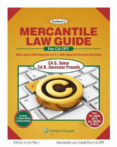 Padukas Mercantile Law Guide  (For CA CPT)