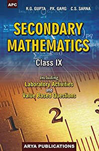 APC Secondary Mathematics for US for Class X (including Laboratory Activities and Value-Based Questions)