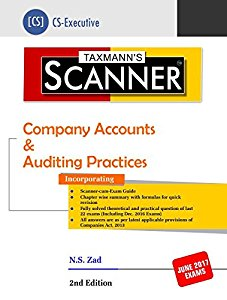 Sacnner - Company Accounts & Auditing Practices (CS Executives)