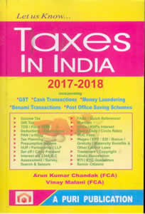 Let Us Know... TAXES in India 2017-18