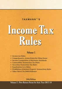 Income Tax Rules 2017 (Set of 2 Vols.)