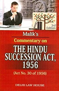 Commentary on the Hindu Succession Act, 1956