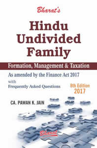 Hindu Undivided Family - Formation, Management & Taxation with Frequently Asked Questions