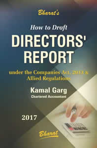 How to Draft Directors Report (Under the Companies Act, 2013 & Allied Regulations)