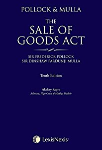 Pollock & Mulla on the Sale of Goods Act