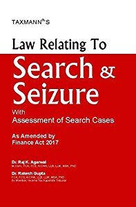 Law Relating to SEARCH & SEIZURE and Survey with Assessment of Search Cases