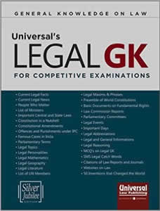 Universals LEGAL General Knowledge For Competitive Examinations