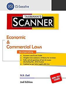 Scanner - Economic & Commercial Laws (CS-Executive)