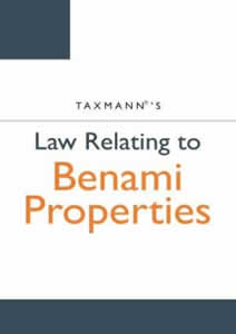 Law Relating To Benami Properties
