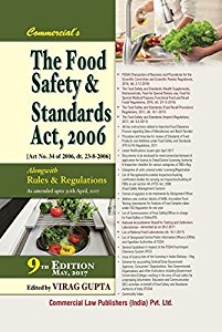 The Food Safety and Standards Act, 2006 (Along with Rules & Regulations)
