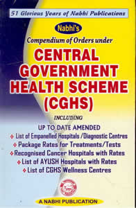 Compendium of Orders under Central Government Health Scheme (CGHS)
