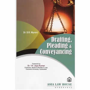 Drafting, Pleadings and Conveyancing