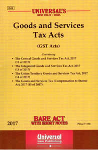 Goods and Services Tax Acts and Rules