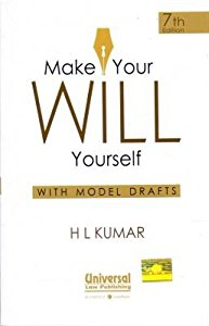 Make Your WILL Yourself (with Model Drafts)