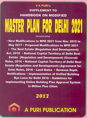 Supplement to Handbook on Modified Master Plan for Delhi - 2021