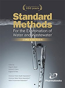 APHAs Standard Methods for the Examination of Water & Wastewater (Book   Online Access)