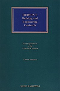 HUDSONS Building and Engineering Contracts (Mainwork & Supplement)