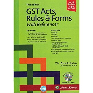 GST Acts, Rules & Forms With Referencer