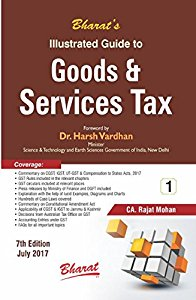 Illustrated Guide to Goods & Service Tax (in 2 Vols.)