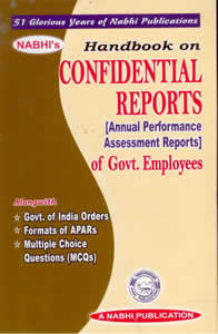 Handbook on Confidential Reports (Annual Performance Assessment Reports) of Govt. Employees