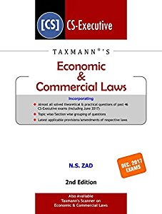Economic & Commercial Laws For Dec. 2017 Exams