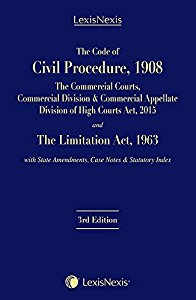 The Code of Civil Procedure, 1908, with State Amendments, Case Notes & Statutory Index and the Limitation Act, 1963