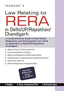 Law Relating to RERA in Delhi, UP, Rajasthan, Chandigarh