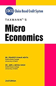 Micro Economics CBCS (Choice Based Credit System)