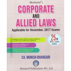 Corporate and Allied Laws (for CA Final) (as applicable for November, 2017 Exams)