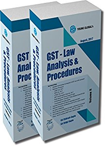 GST - Law Analysis & Procedures (Free CD) (in 2 Vol.)