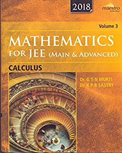 Wileys Mathematics for JEE (Main & Advanced): Calculus, Vol 3, 2018 (WIND series)