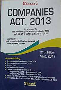 Companies Act, 2013 (Pocket, Bare Act)