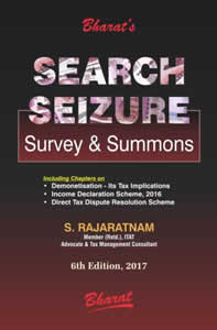 SEARCH, SEIZURE - Survey & Summons