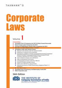 Corporate Laws (Pocket Edition) (Set of Two Volumes)